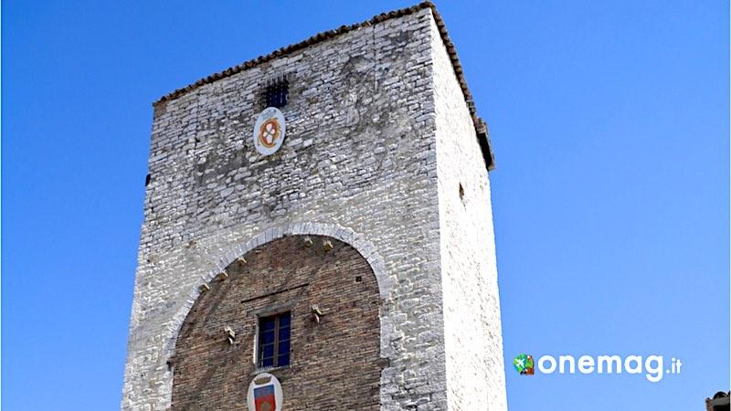 Gubbio, Torre di Porta Romana