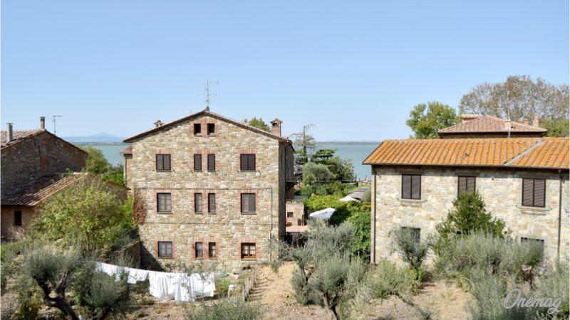 Lago Trasimeno in Umbria, l'Isola Maggiore
