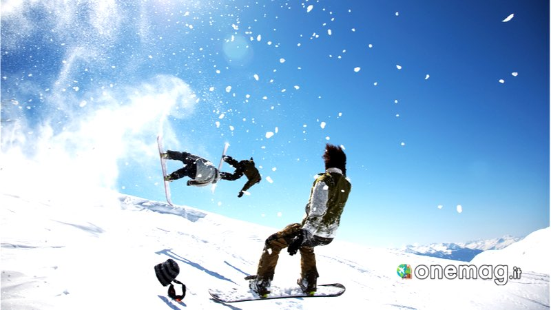 La Thuile, snowboard