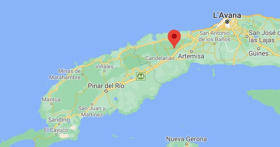 Cosa vedere a Las Terrazas, mappa