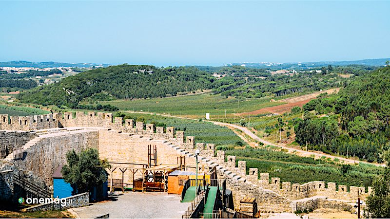 Leira, il castello di Obidos