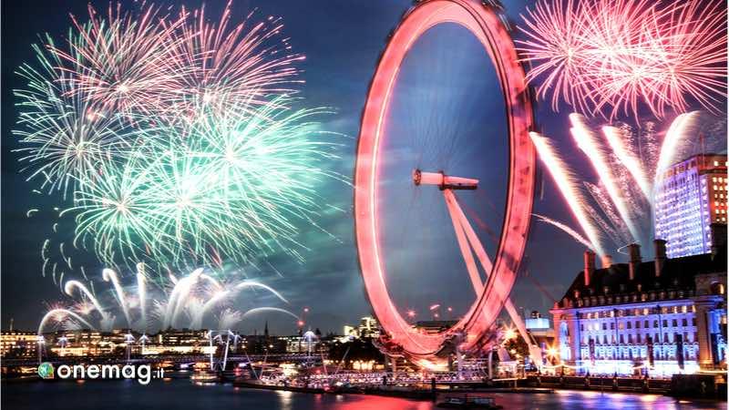 Londra, fuochi d'artificio