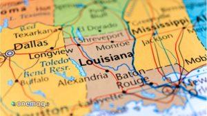 Louisiana, Mappa