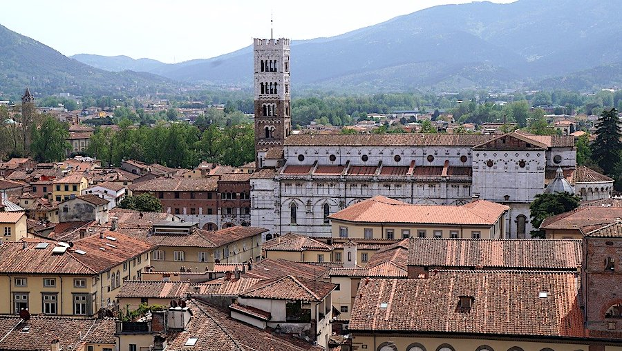 Cosa vedere a Lucca, panorama