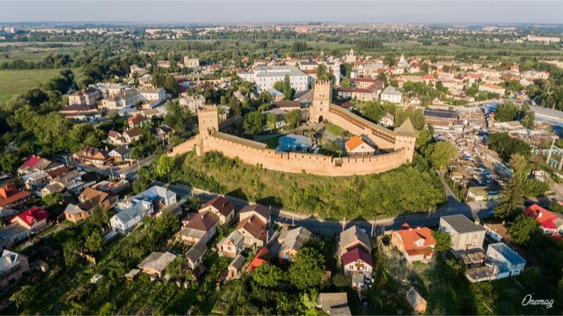 Cosa vedere a Lutsk, veduta del castello