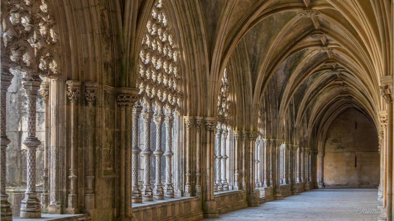 Monastero di Batalha, l'interno