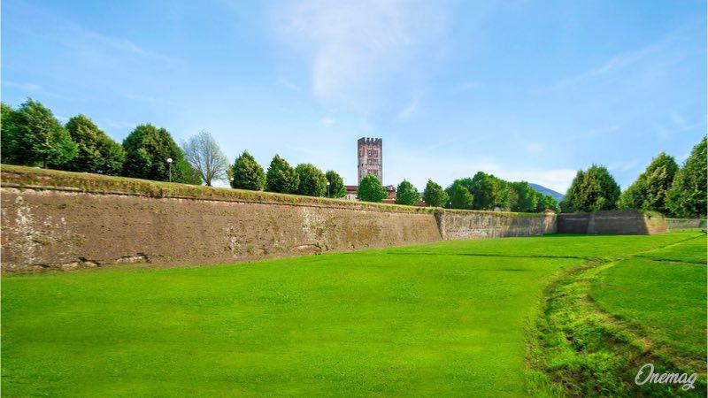 Lucca, le mura