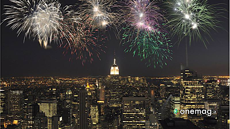 New York, fuochi d'artificio