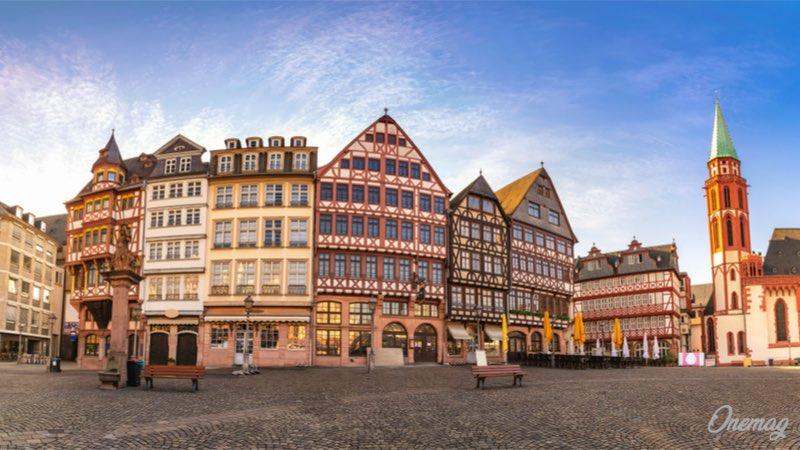 Francoforte, il centro turistico