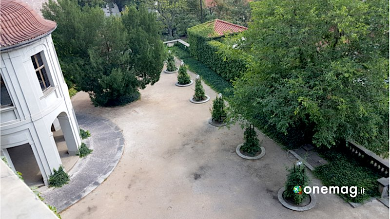 Praga, Giardino di Hartig