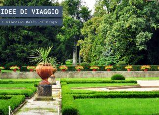 I giardini reali di Praga