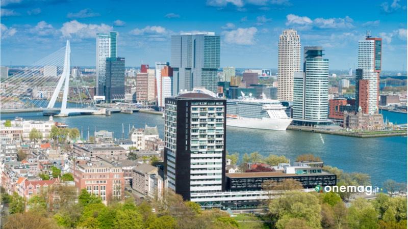 Lo skyline di Rotterdam