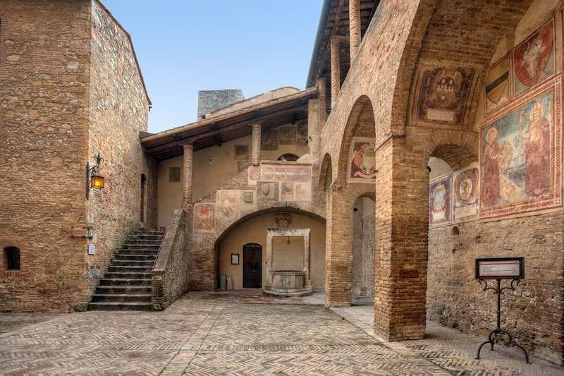 Cosa vedere a San Gimignano, la Chiesa di Sant'Agostino