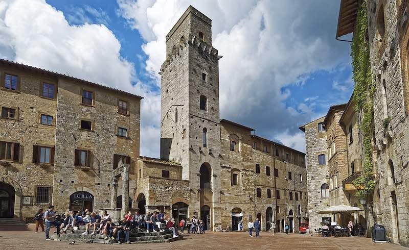 San Gimignano, centro storico