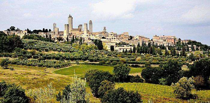 Cosa vedere a San Gimignano, veduta