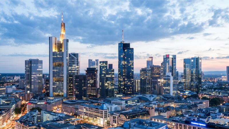 Lo skyline di Francoforte