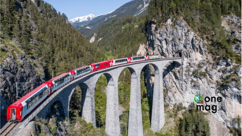 Ponte dell'Immacolata sul Trenino Rosso del Bernina