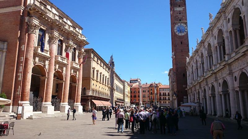 Vicenza, la città di Palladio
