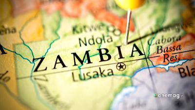 Zambia, mappa