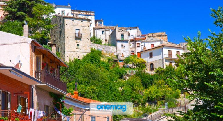 Alberona, il borgo del Monte Stilo, provincia di Foggia