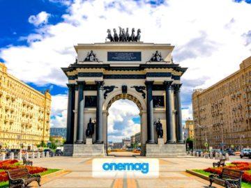 Arco di trionfo, il celebre monumento di Mosca
