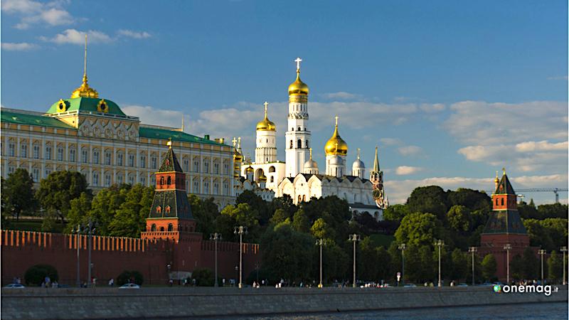 Il Cremlino di Mosca, la Cattedrale dell'Arcangelo Michele