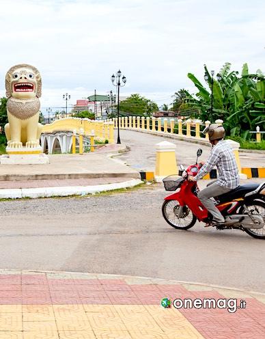 Battambang, veduta
