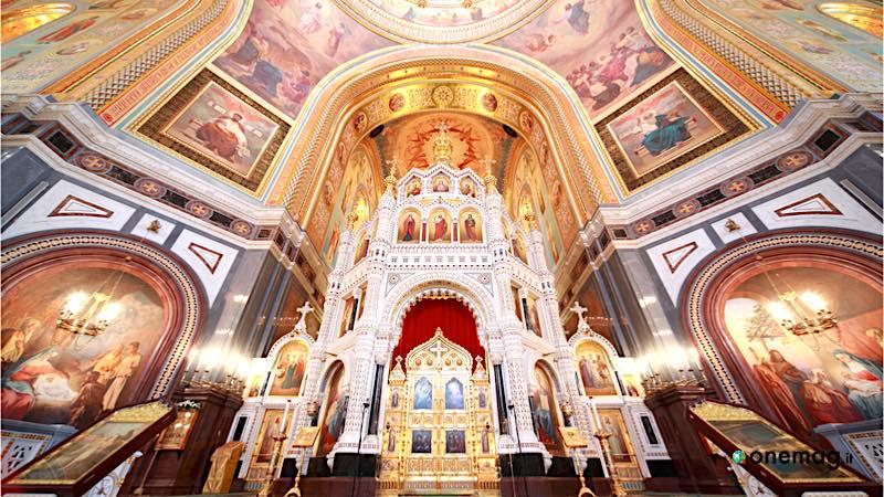 La Cattedrale di Cristo Salvatore, veduta interna