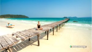 Koh Rong, relax in spiaggia