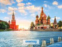 La Piazza Rossa di Mosca, il simbolo della Russia