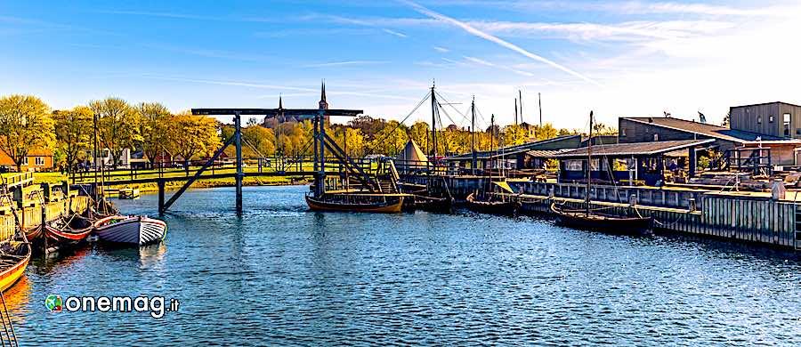Cosa vedere a Roskilde, navi vichinghe