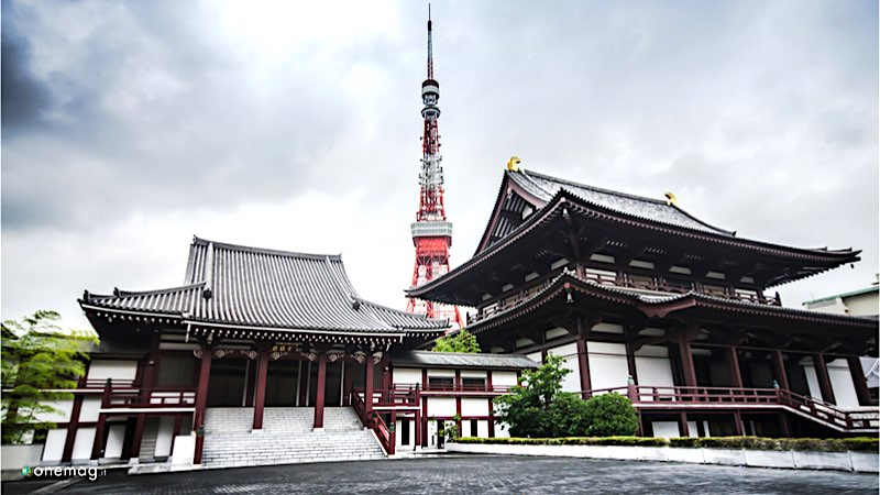 Roppongi Tokyo, Tempio Zojoji