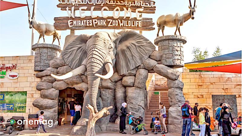 Abu Dhabi, Zoo degli Emirati