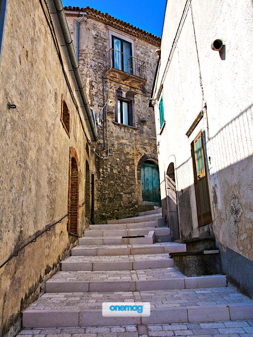 Cosa vedere ad Alberona, veduta centro storico