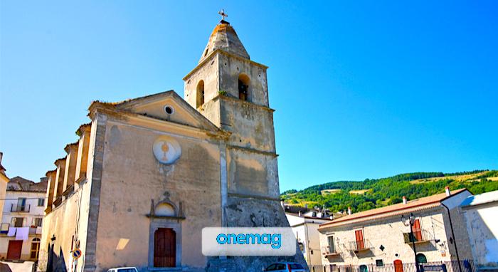 Cosa vedere ad Alberona, la Chiesa Madre