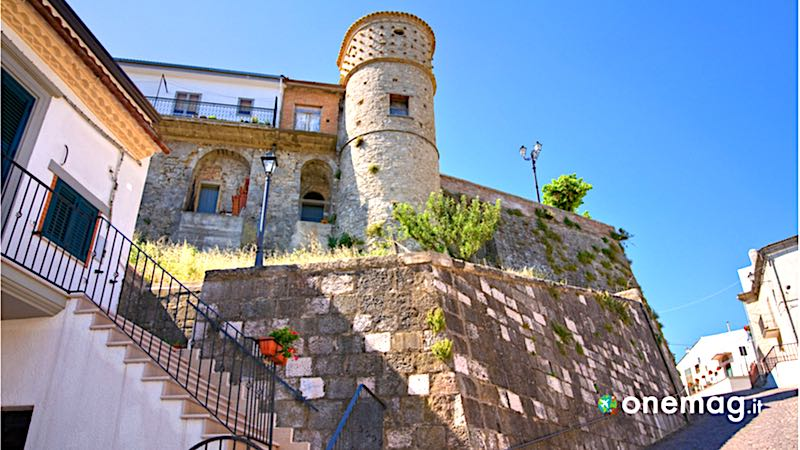 Alberona, scorcio del paese