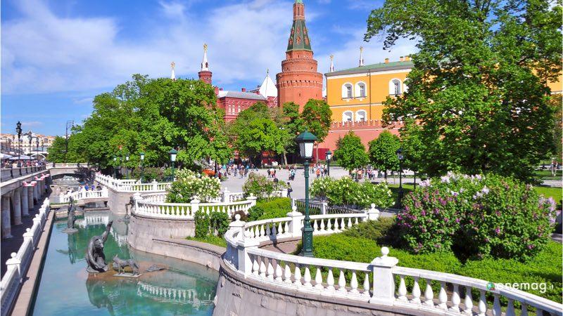 Il Cremlino, Alexander Garden