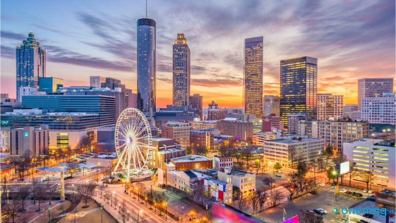 Le 10 città americane più visitate, Atlanta
