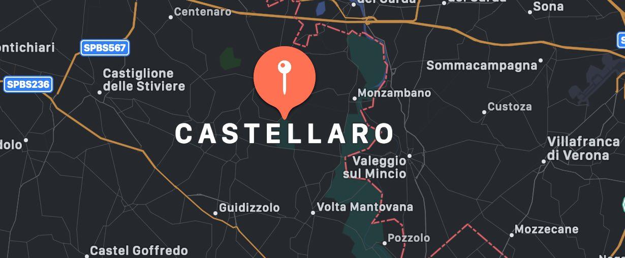 Cosa vedere a Castellaro Lagusello, mappa