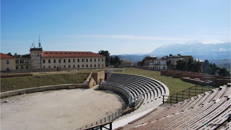 Cosa vedere a Chieti, Anfiteatro Romano