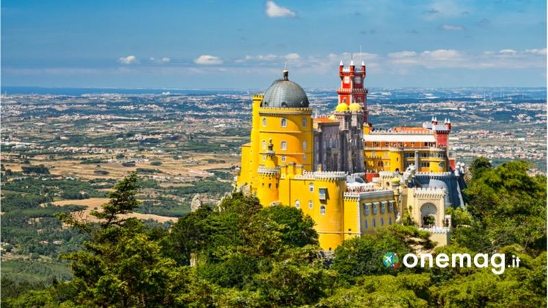 Cosa vedere a Sintra, il Palácio Nacional da Pena