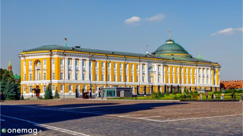 Il Cremlino di Mosca, il Senato