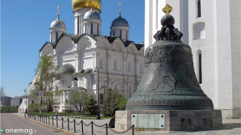 Il Cremlino di Mosca, la Campana dello Zar