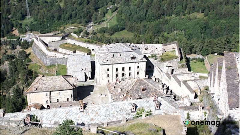 Forte di Fenestrelle, veduta dall'alto