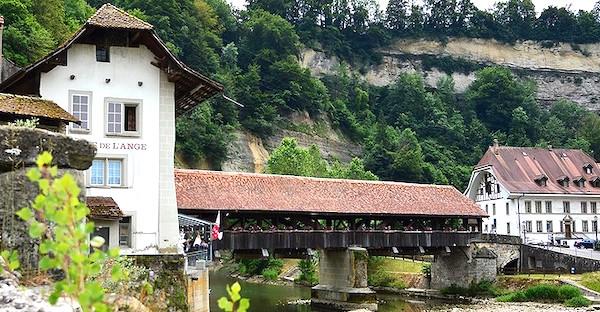 Cosa vedere a Friburgo, il pont de Berne