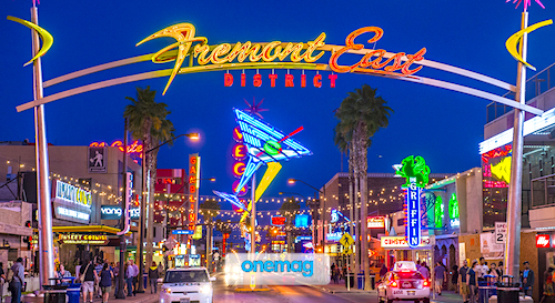Cosa vedere a Las Vegas, veduta Freemont Street