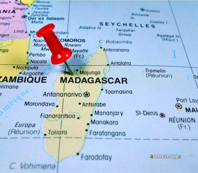 Guida del Madagascar, mappa