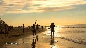 Mancora, gioco in spiaggia