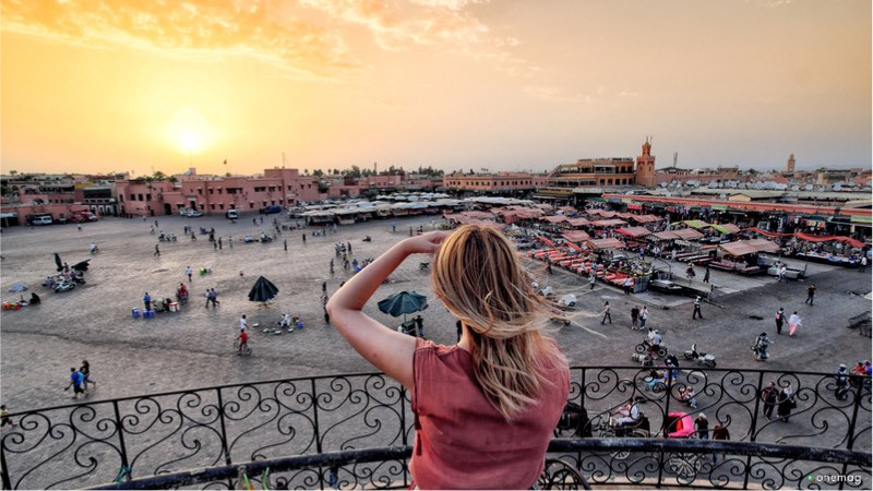 Djeema El Fna a Marrakech
