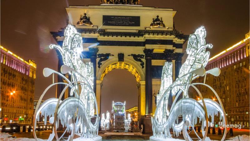 L'Arco di Trionfo di Mosca